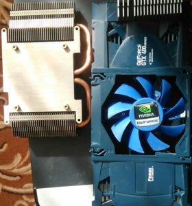 Радиатор охлаждения видеокарты в сборе