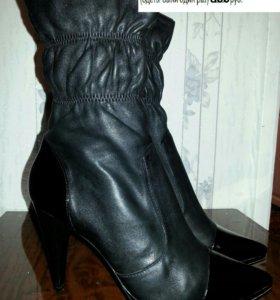 Женские ботинки нат.кожа