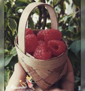 """Мыло ручной работы """"Корзинка с ягодами"""""""