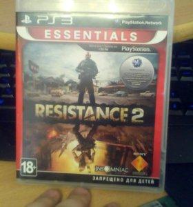 Resistance 2 (лицуха) PS3