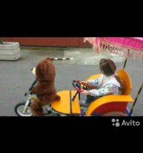 Усиленный вело рикша