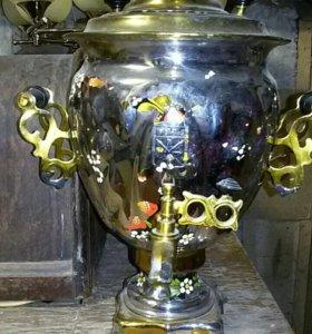Самовар тульский ссср электрический.