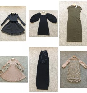 Брендовые платья Valentino, Apart, hm, Zara, Soft