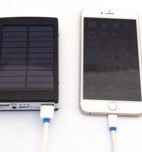 Power Bank 30 000 mah на солнечных батареях