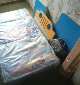 Продам кровать машина