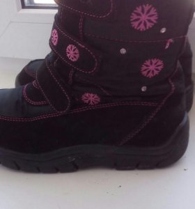 Ботинки на липучках мембрана