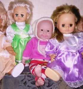 Куклы, мягкие игрушки