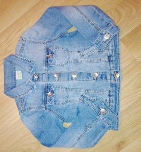 Куртка джинсовая 110-116