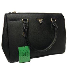 Сумка Prada Galleria Bag (черная)