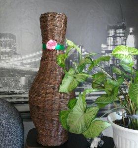 Плетение напольных ваз,карзин