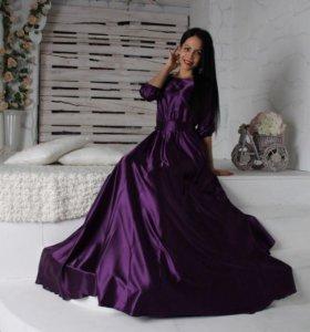 Платье из шёлка