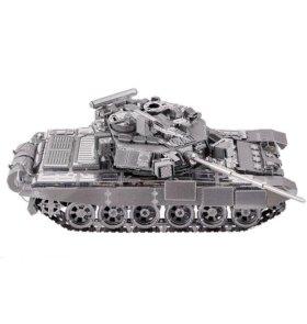 Танк Т-90А (3д пазл)
