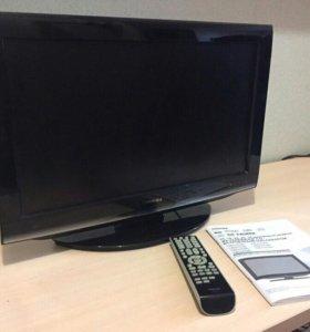 ЖК-телевизор со встроенным DVD плеером