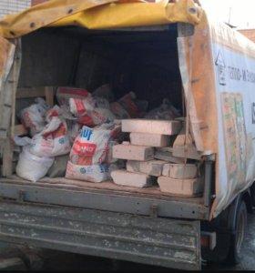 Вывоз мусора на газеле