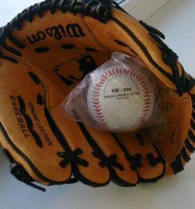 Перчатка бейсбольная