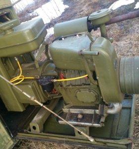 Военный бензо генератор