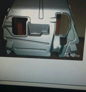 Защита двигателя (картера) на Калину, Гранту
