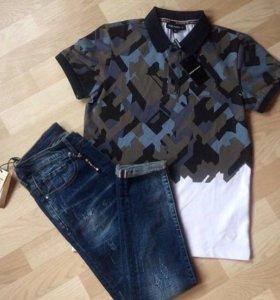 Поло и джинсы 🔝 Philipp Plein , Armani 💥