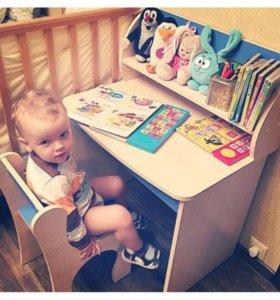 Детский стол со стульчиком