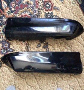 Subaru be5 накладки на задний бампер