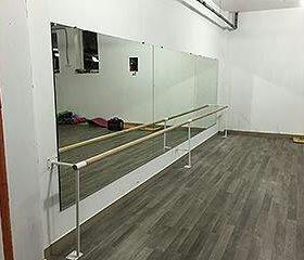 Зеркала для танцевальной студии