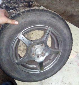 Колеса r13 175*70 на литых дисках