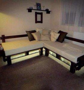ЭКО мебель в стиле паллет