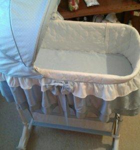 Новая Кроватка -люлька торг.
