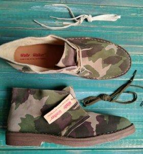 Ботинки милитари кожа (новые)