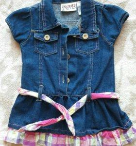 Джинсовое платье Carter's
