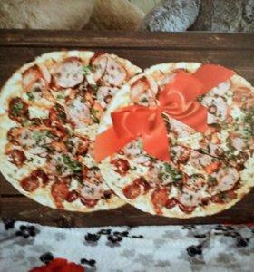 Панно Пицца с лентой