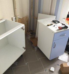 Сборка корпусной мебели установка кухни ремонт