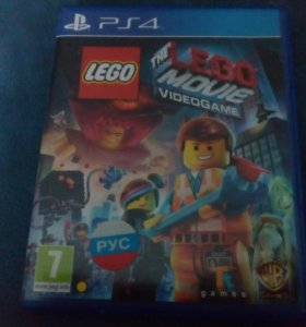 Игра на ps4 the lego movie videogamr