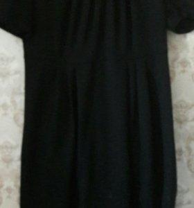 Платье теплое под грудь