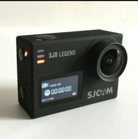 Sjcam sj6 legend экшн камера (аквабокс+крепления)