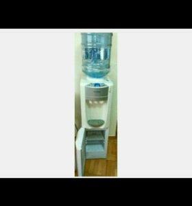 Кулер + встроенный холодильник