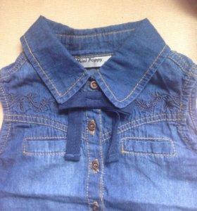 Блузка новая, размер 86-92