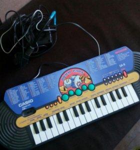 Детский синтезатор Casio