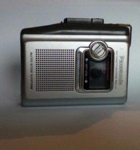 Диктофон кассетный Panasonic