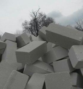 Кирпич заводской силикатный