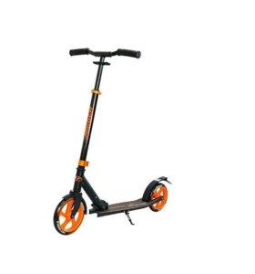 Городской самокат Jogger 210 черно-оранжевый