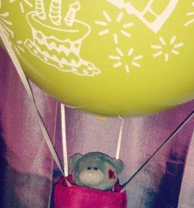 Летающий воздушный шар в миниатюре