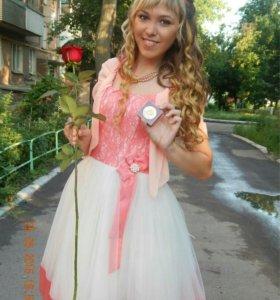Платье на выпускной или торжество