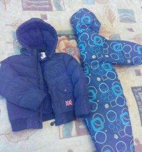 Зимний комбеинизон и куртка
