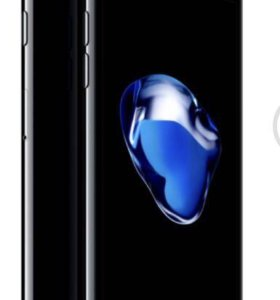 iPhone 7 jet black 128 гб