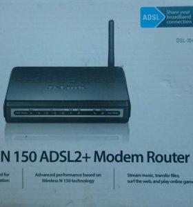 Модем роутер DSL-2640U