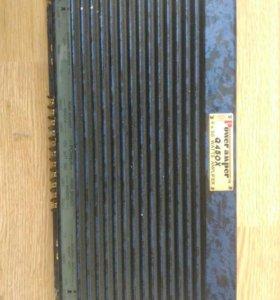 Усилитель Power Amper Q450X + сабвуфер