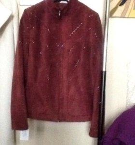 Куртка замшевая 42-44 р