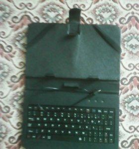 Продам чехол клавиатура для планшета