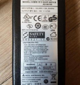 Сетевой Блок питания ноутбука Samsung r70 оригинад